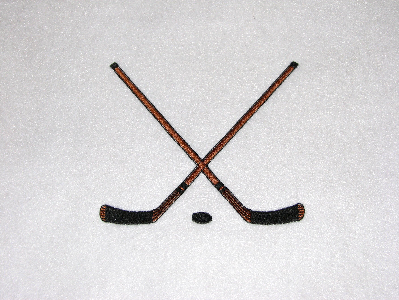 Crossed Hockey Sticks Lucky Scarf Hockey Tattoo Hockey Stick Stick Tattoo