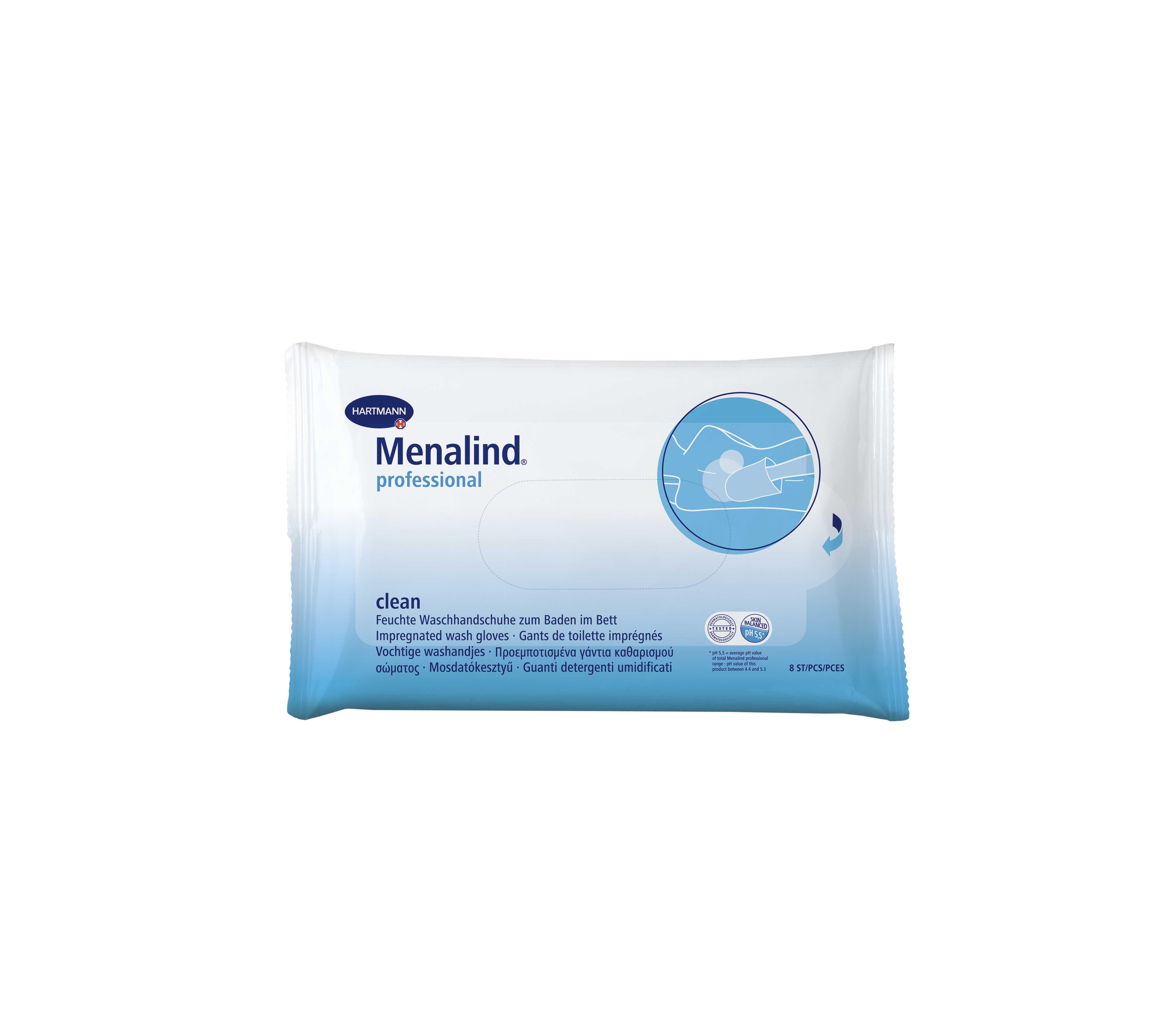 Hartmann Menalind Clean Wash Gloves Proempotismena Gantia Ka8arismoy Swmatos 8tmx Pharm24 Gr Personal Care Person Beauty