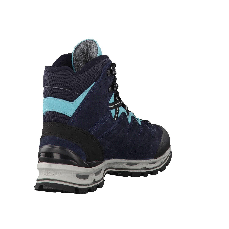 5297b2d1b6c Meindl womens Trekking boots night blue turquoise Minnesota Lady pro ...