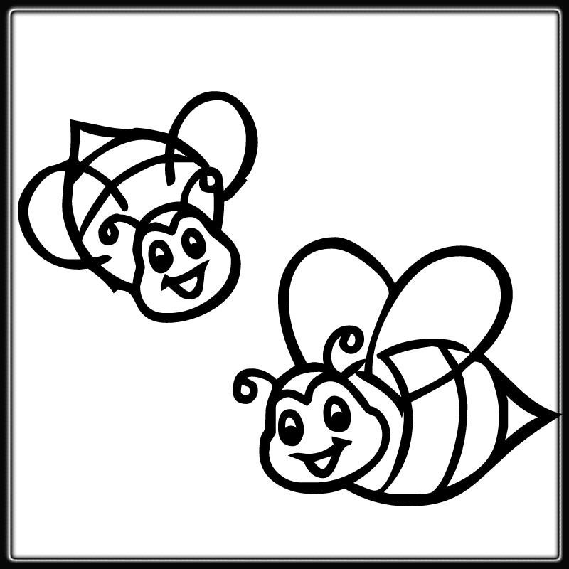 Printable Bumble Bee Coloring Pages di 2020