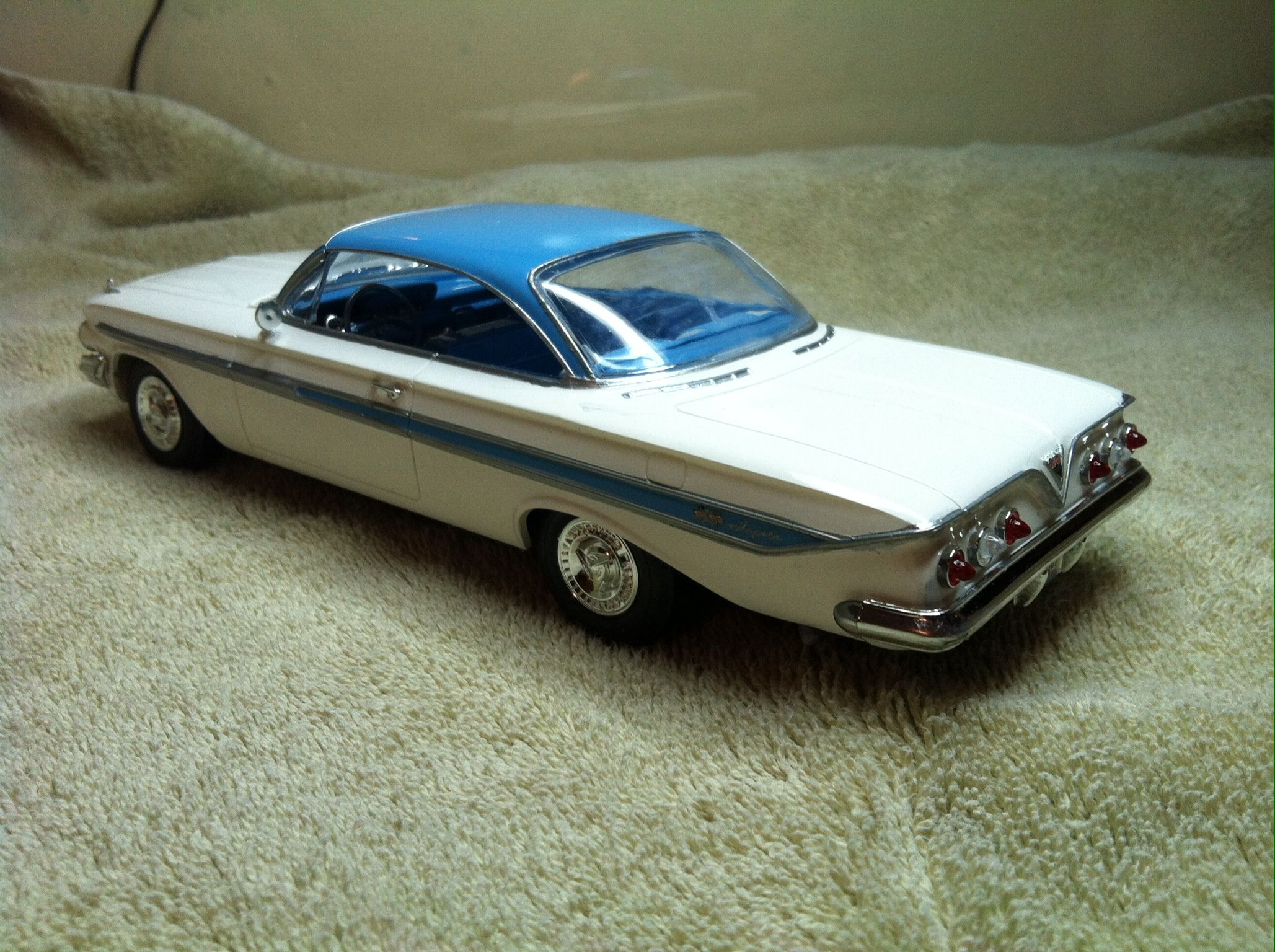 1961 chevy impala diecast cars pinterest model car. Black Bedroom Furniture Sets. Home Design Ideas