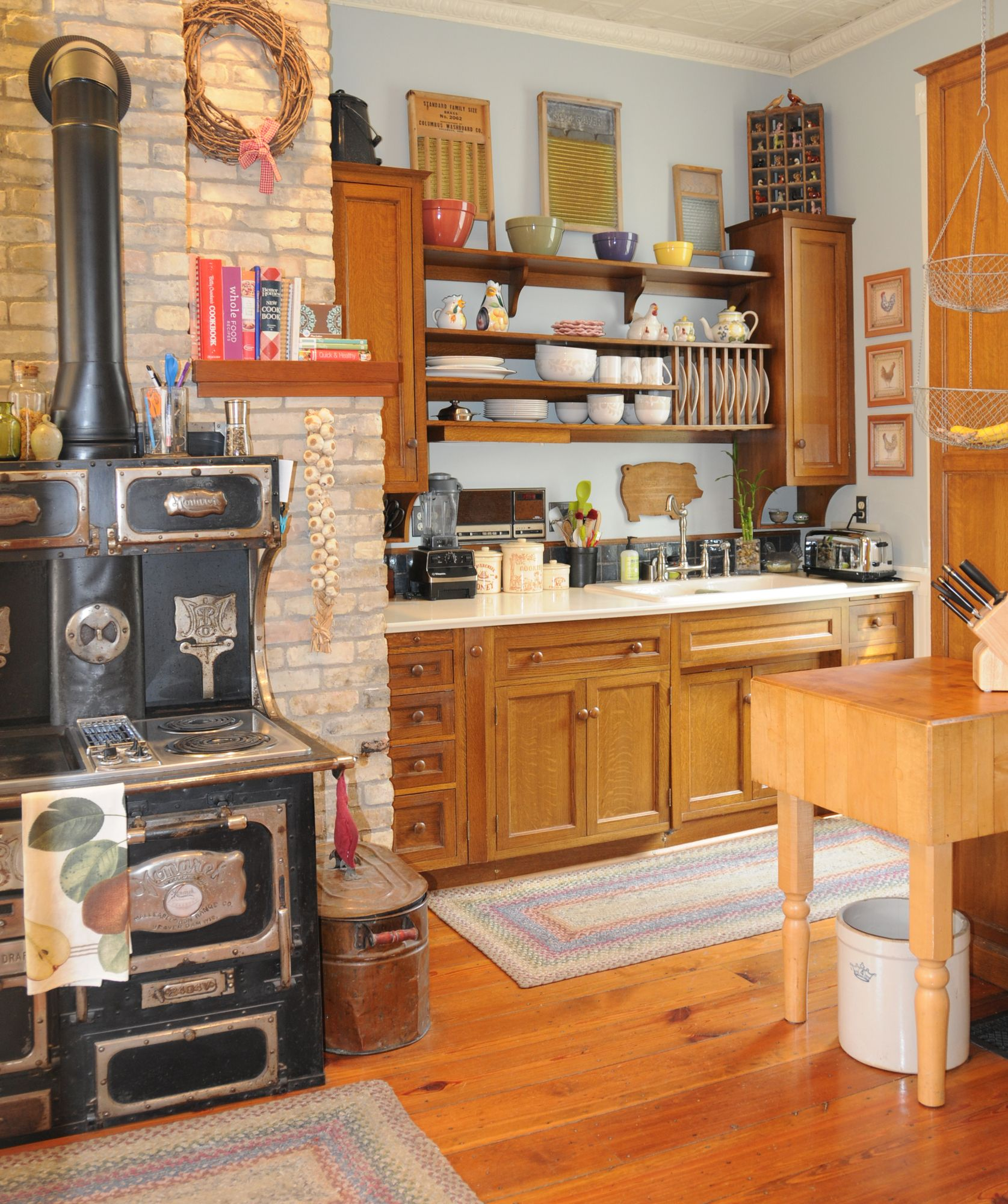 Antique Kitchen 1880s Home Design Decor Victorian