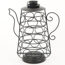 22 Pod Metal Coffee Pot Keeper for K Cups