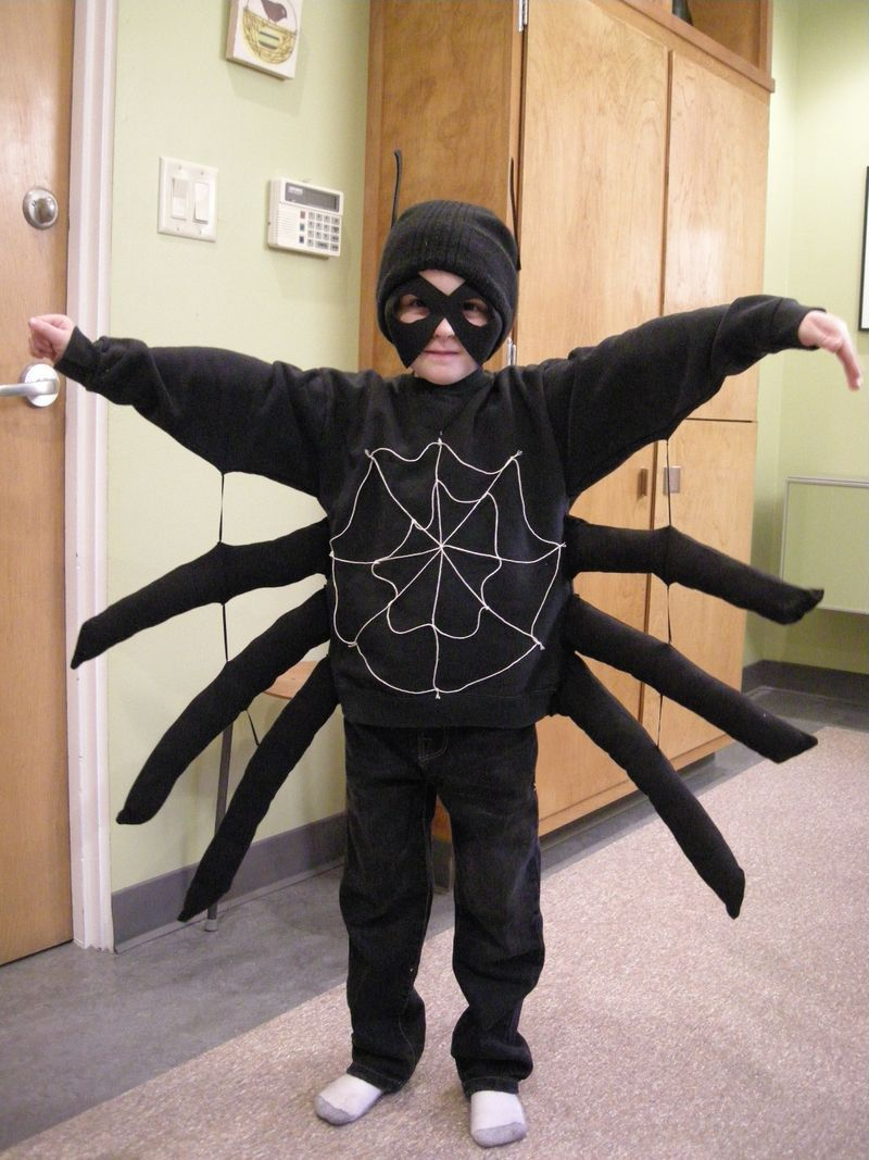 Spider costume - I could make this really cute with sparkly tights and a tutu! & Spider costume - I could make this really cute with sparkly tights ...