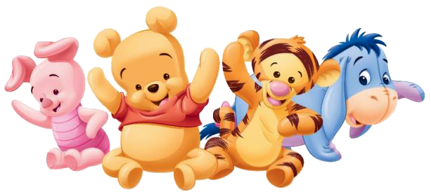 This is a photo of Exceptional Baby Winnie the Pooh and Friends