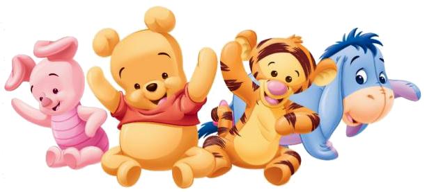 Baby Pooh And Tiger Cake Kit