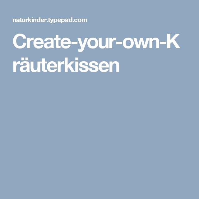 Create-your-own-Kräuterkissen