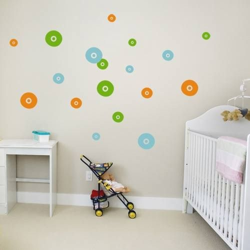 Upgrade your kids' rooms or play area with these fleece circles wall stickers. These wall decals can be placed as you wish on the wall to create a unique fantasy scene. Simply peel and stick the wall graphics to get a stylish and decorative look.  http://www.coolwallart.com/shop/kids-wall-decal-fleece-circles/