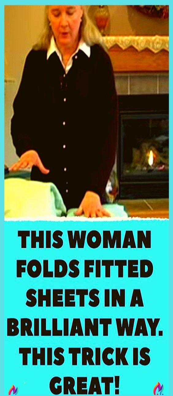 How to Fold a Fitted Sheet Very Easy!!!!