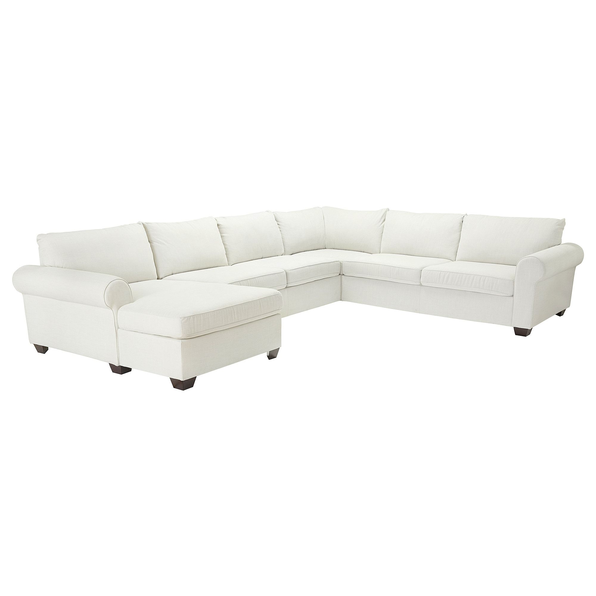 ELLESTORP, Sectional, 4-seat Corner, With Chaise