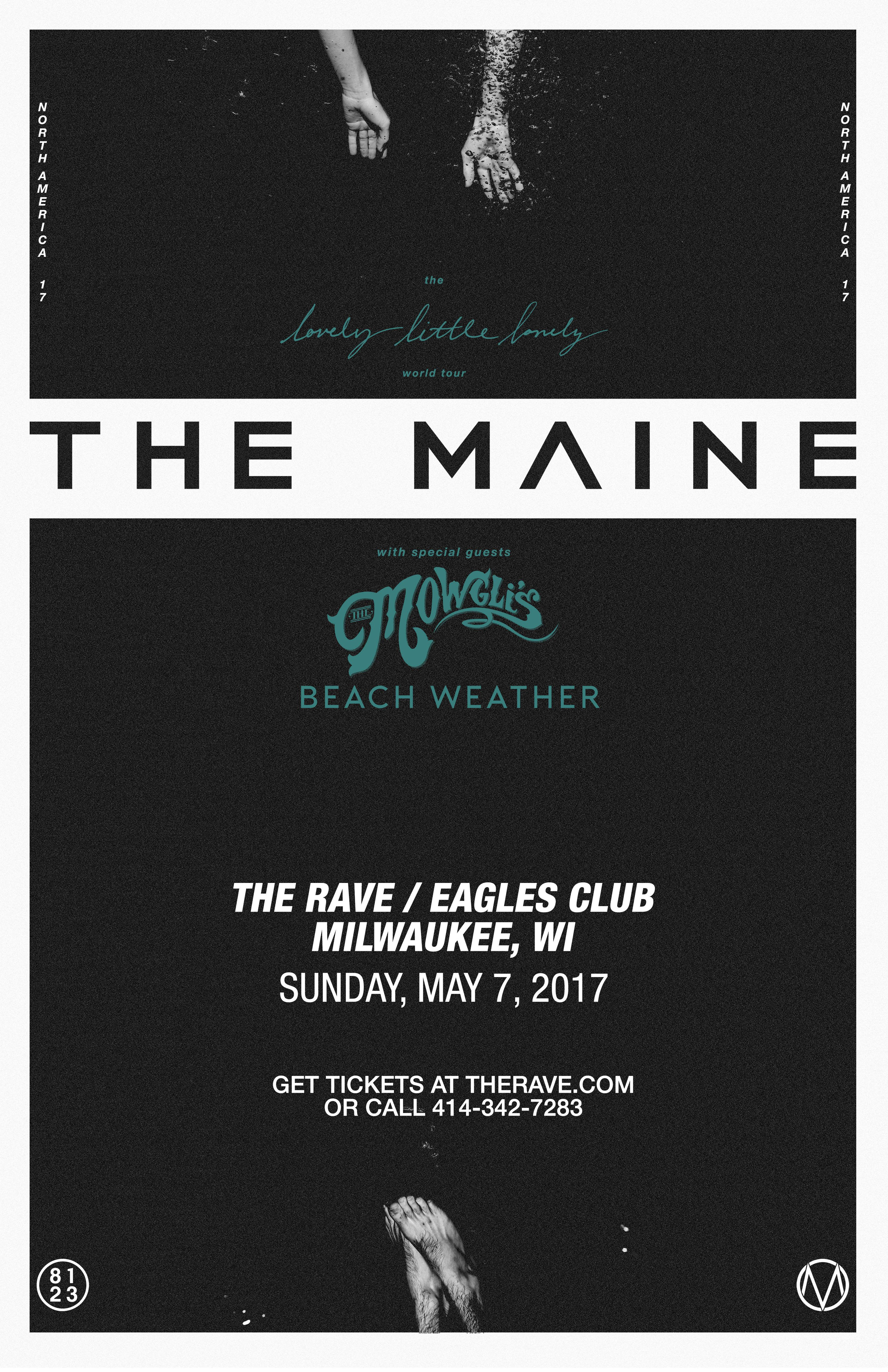 lovely little lonely world tour the maine with the mowgli u0027s