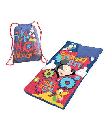 Another great find on #zulily! Mickey Mouse Sleeping Bag & Sack by Mickey Mouse #zulilyfinds