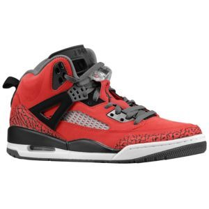 80962b1cef02 Jordan Spizike - Men s - Basketball - Shoes - Gym Red Black Dark Grey White   Eastbay