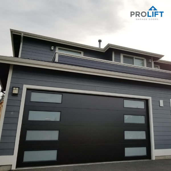 Home Design Trends For 2019 Include Darker Colors Such As Black Steel Garage Doors Garage Door Styles Contemporary Garage Doors Garage Doors