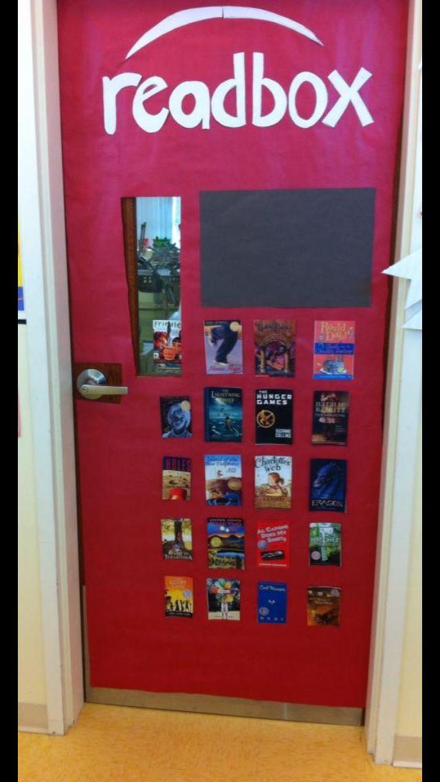 Classroom Decoration For Teachers ~ Classroom door for teachers or librarians teaching