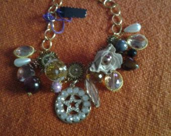 collana tessile by RosafucxiaCreations on Etsy