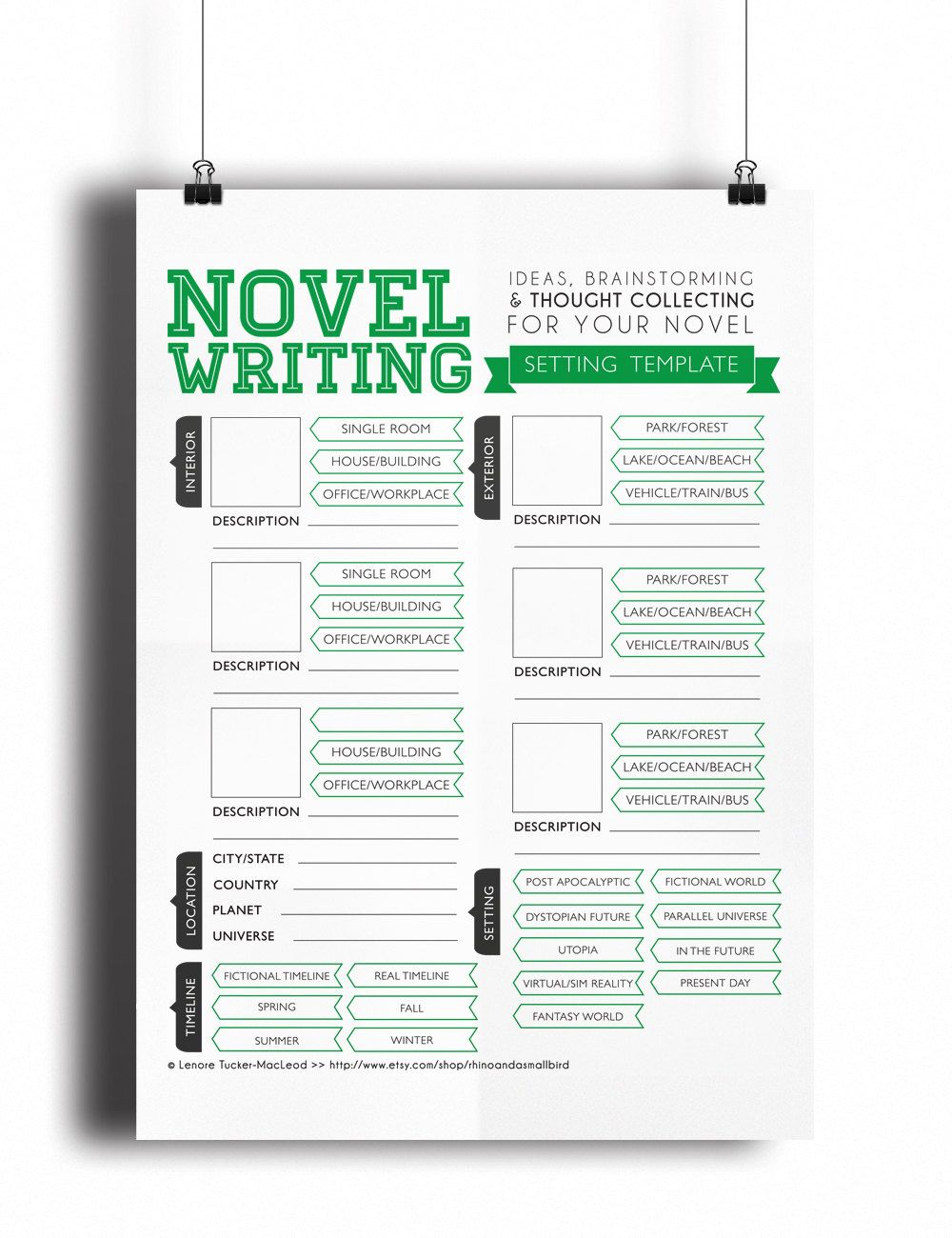 christmas gifts for writers novel writing templates
