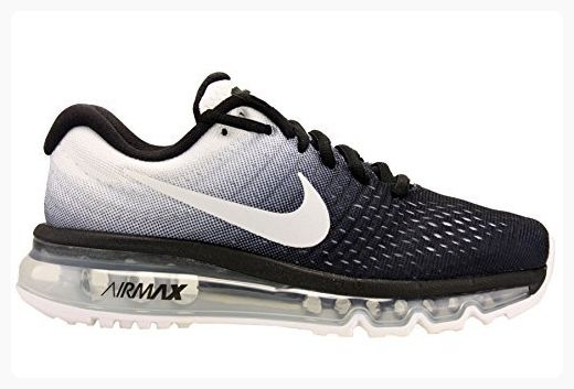 new styles 459ca c74a0 Nike Womens Air Max 2017 Running Shoes Black White 849560-010 Size 9.5  ( Partner Link)