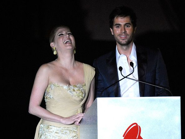 Enrique Iglesias Photos Photos - TV personality Maite Delgado and singer Enrique Iglesias onstage during the 2009 Person of the Year honoring Juan Gabriel held at Mandalay Bay Resort & Casino on November 4, 2009 in Las Vegas, Nevada. - 2009 Person Of The Year Honoring Juan Gabriel - Show
