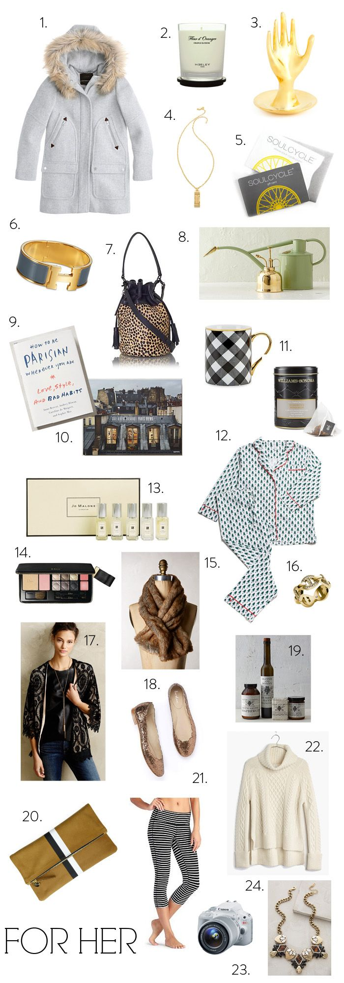 Gift Guides 2014: For Her (elements of style) | Pinterest | Gift ...