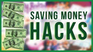 DIY Saving money HACKS! How to save money