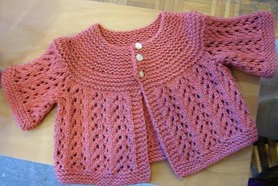 Dk Weight Yarn Patterns | ... baby version, knit with 400 ...
