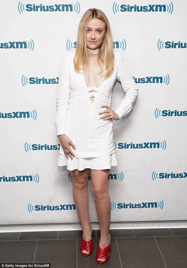 Elle Fanning Mini Dress