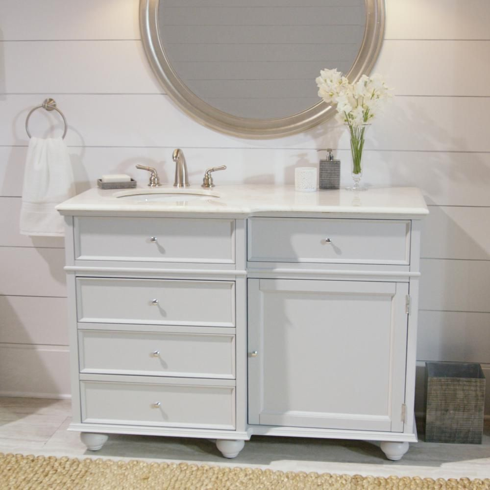 Best Home Decorators Collection Hampton Harbor 48 In Vanity In 400 x 300