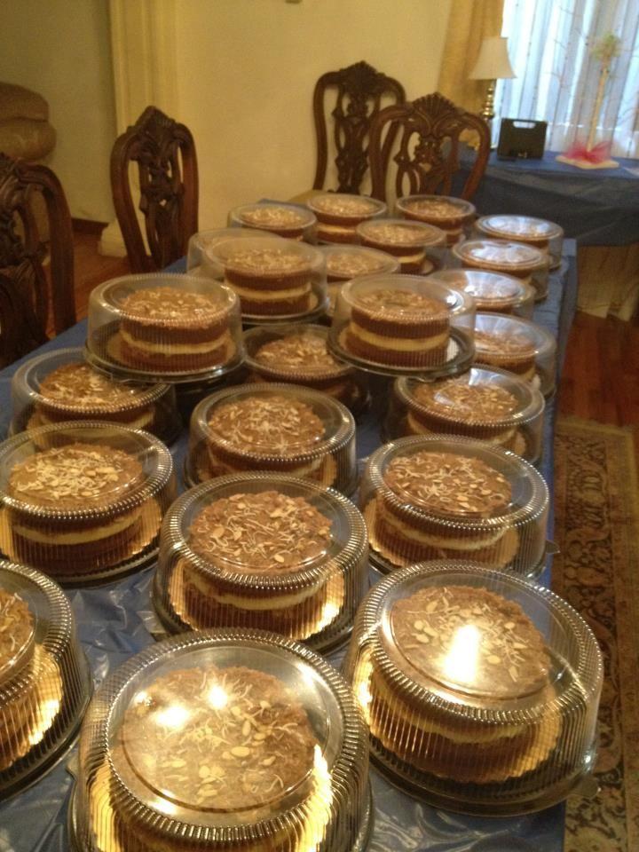 Pastel aleman con cheesecake