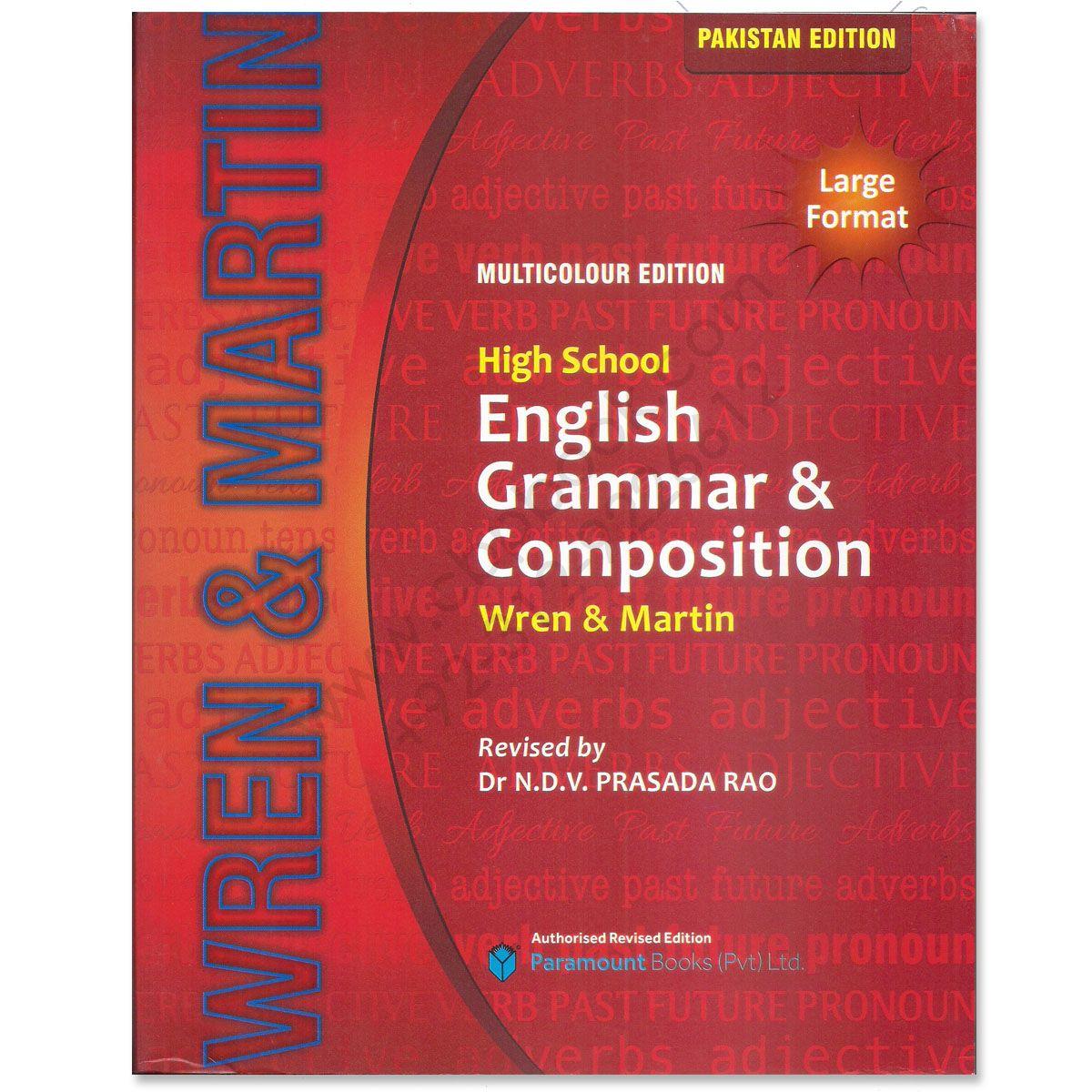 best grammar books for high school wren martins | Body Weight and ...
