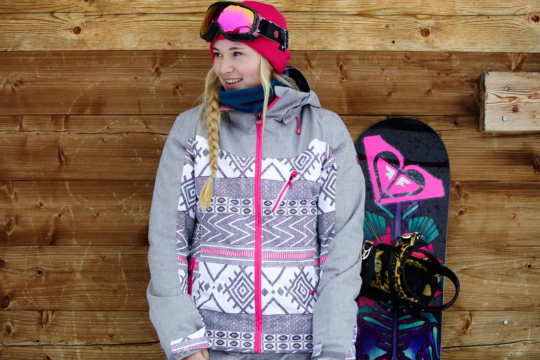7f8b7f7291 Katie Ormerod in the Sassy - Snow Jacket  ROXYsnow