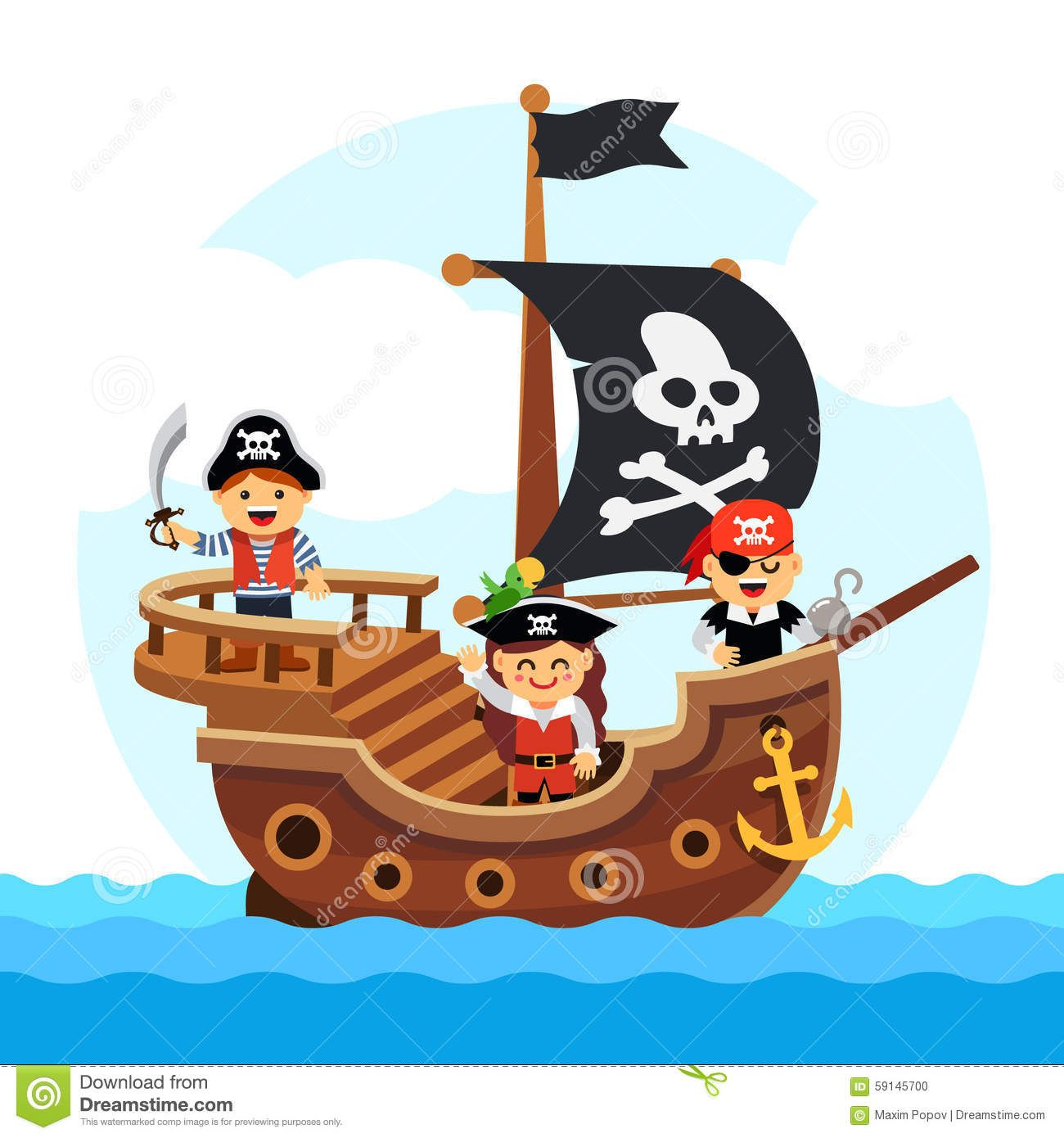 image result for pirate ship cartoon uiux2 pinterest