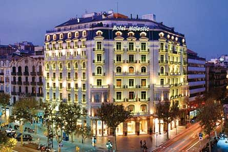 Hotel Majestic Spa Barcelona Luxury Hotels Design