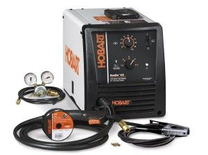 The Hobart 500559 Handler is built with the Hobart quality and durability, the Handler 140 is Hobart's most popular wire feed welder and the industry's best value – it is MIG ready, no additional kit required. Operating on standard 115v household current, the Handler 140 is extremely versatile and perfect for the welder that wants to work on auto body, household repairs, or even heavier farm projects that require extra welding power.
