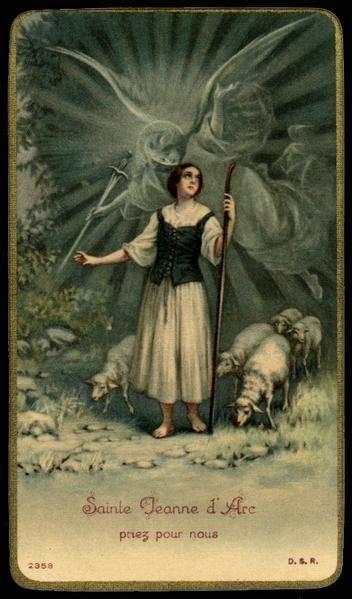 St. Joan of Arc. My Confirmation Saint name.