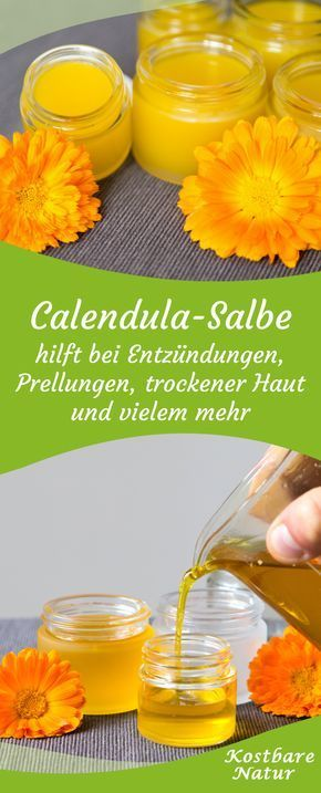 calendula salbe selbst gemachte heilsalbe aus ringelblumen gesundheit pinterest salbe. Black Bedroom Furniture Sets. Home Design Ideas