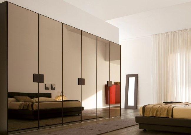 Gambar Model Lemari Pakaian Rumah Minimalis Terbaru 3 - Lemari Pakaian Cermin Penuh