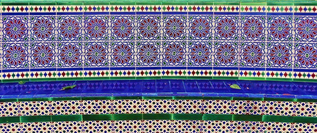 Azulejos del patio andaluz parque rod montevideo uruguay uruguay montevideo pinterest - Azulejos patio andaluz ...