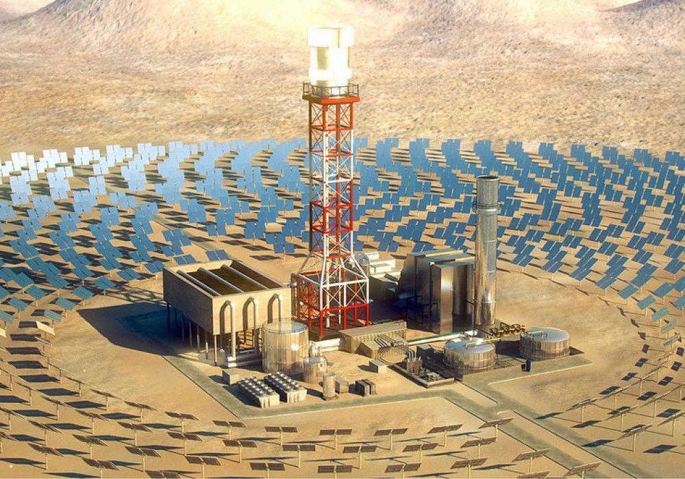 Sau 3 năm thi công, Hệ Thống Sản Xuất Điện Mặt Trời