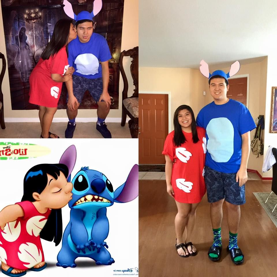 4468d236108 Easy DIY Lilo and Stitch Halloween Costume!!!