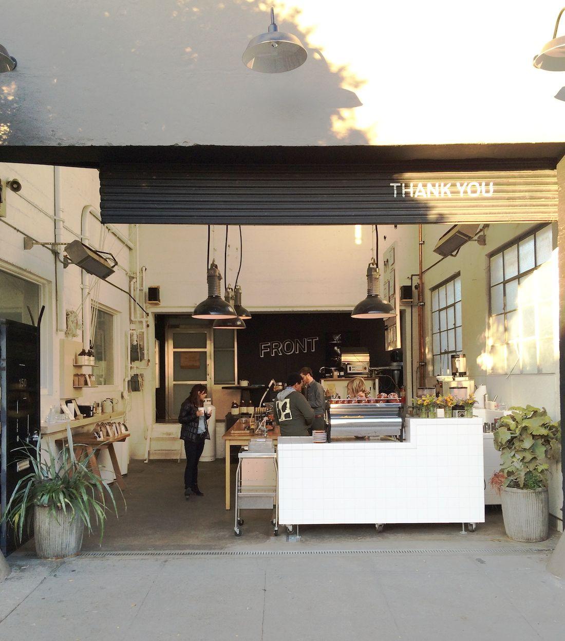 Front Coffee San Francisco Cafe Design
