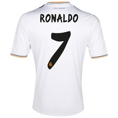b8e62d361ae 13-14 Real Madrid #7 Ronaldo Home Jersey Shirt | jersey | Real ...