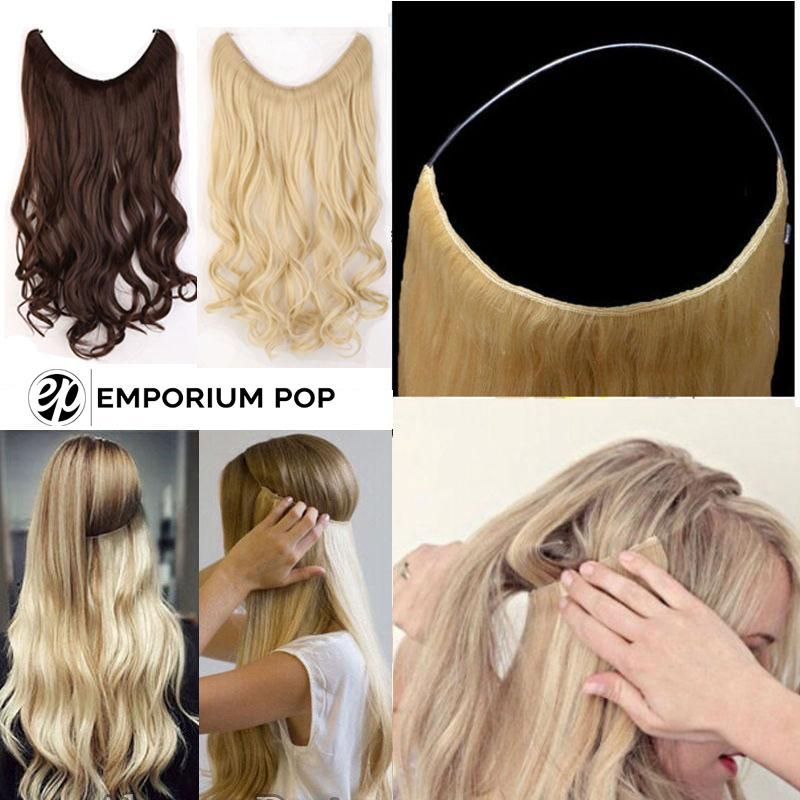 Get 2 Extensions Normally 34 98 Usd For 1 Produit Cheveux Boucles Coiffure Et Beaute Cheveux Long