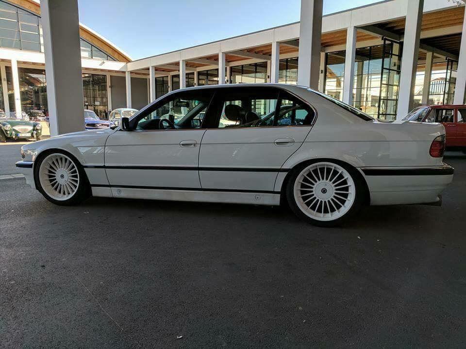 Bmw E38 White With White Aplina Softline 20 Bmw E38 Bmw