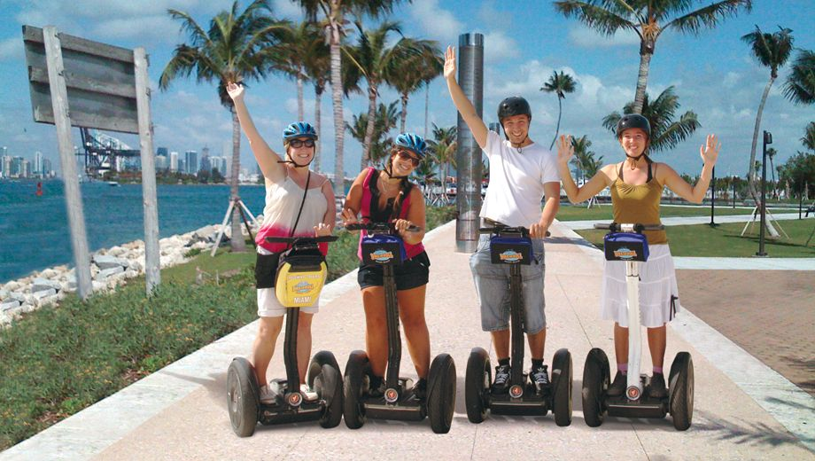 Miami beach mar 26 segways at sunset tour with images