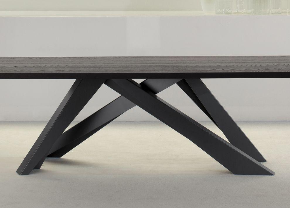 Bonaldo Big Table In Anthracite Grey - Bonaldo Tables & Dining ...