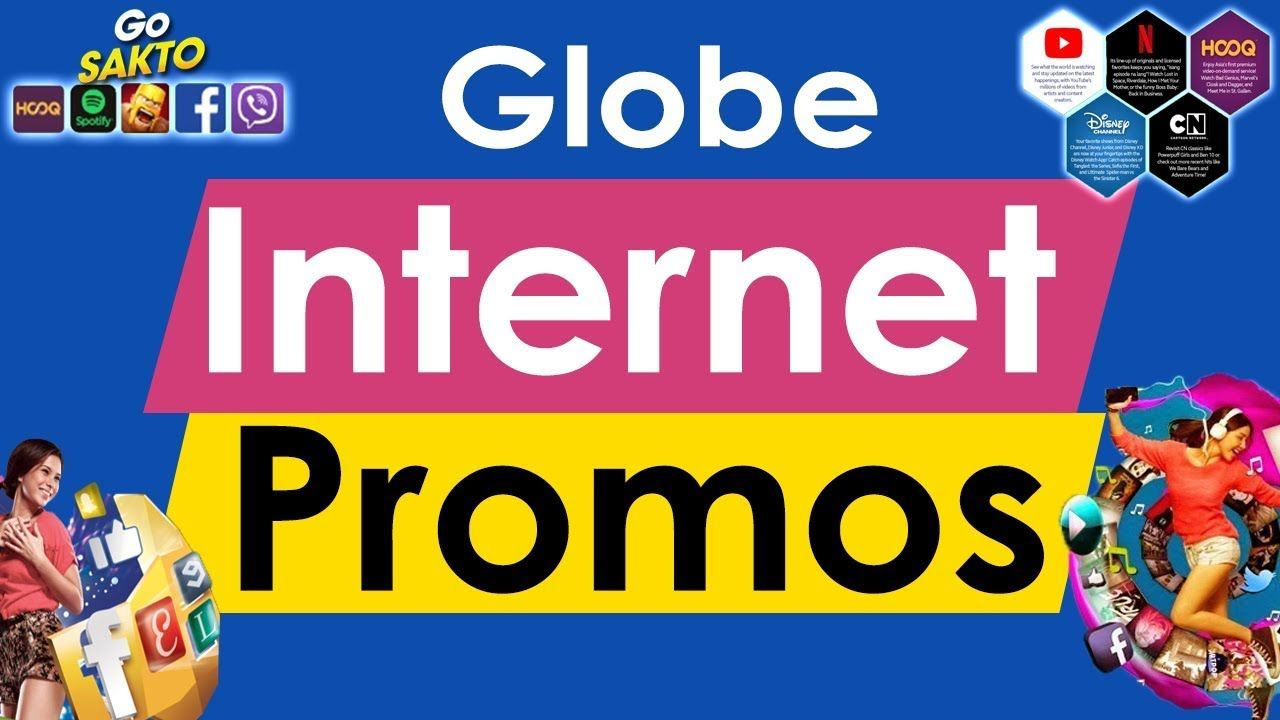 All Globe Internet Promos Globe Telecom It Network Internet