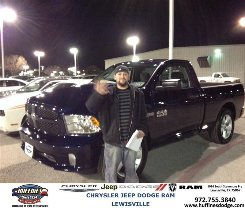 #HappyBirthday to Joe Daigneault from Mark Gill at Huffines Chrysler Jeep Dodge Ram Lewisville!