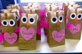 Valentine S Day Treat Bags Teaching Pinterest Valentines