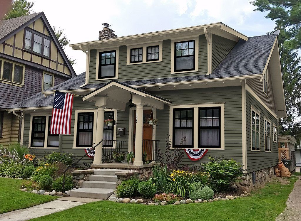 craftsman paint colors | exterior colors | Pinterest | Craftsman ...